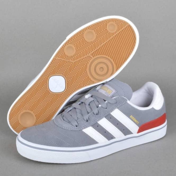 White Skate Vulc Adidas Busenitz GreyFtwr Skateboarding Shoes 7fwq1A6