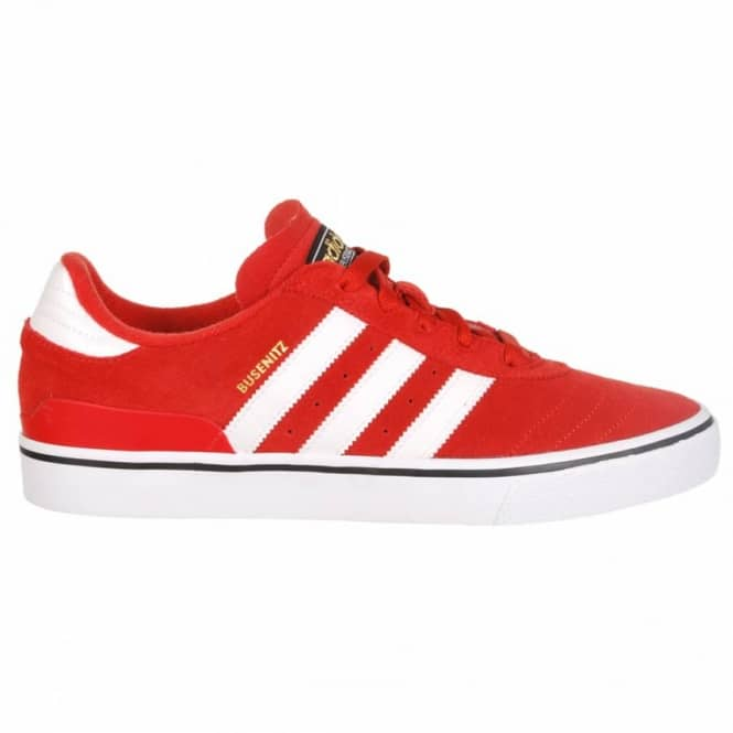 Adidas Skateboarding Adidas Skateboarding Busenitz Vulc Skate Shoes - St Brick (Red)/Running White/Black
