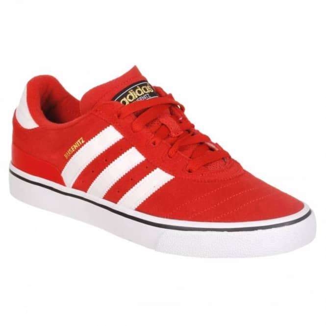 ee03b24d350 Adidas Skateboarding Busenitz Vulc Skate Shoes - St Brick (Red) Running  White