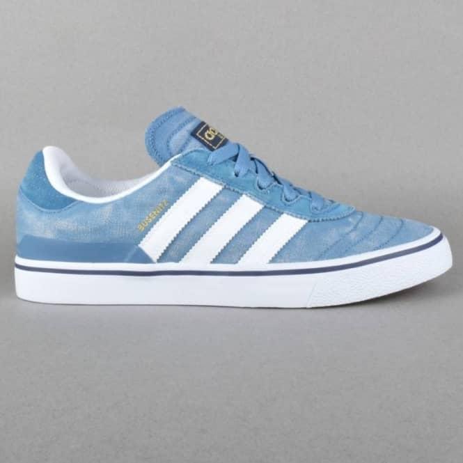 Evolucionar Ordenador portátil Progreso  Adidas Skateboarding Busenitz Vulc Skate Shoes - ST Stonewash Blue  F13/Running White FTW/Collegiate Navy - Mens Skate Shoes from Native Skate  Store UK