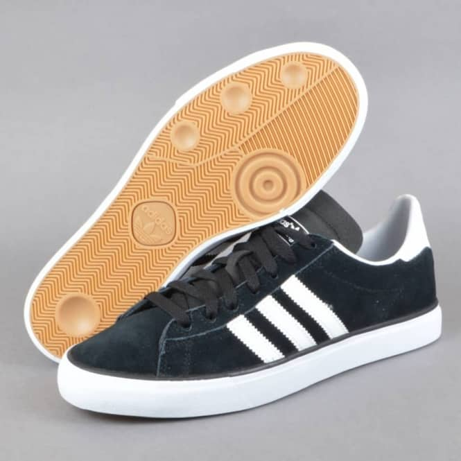 lower price with designer fashion best website Campus Vulc II Skate Shoes - Core Black/FTW White/Gum 3