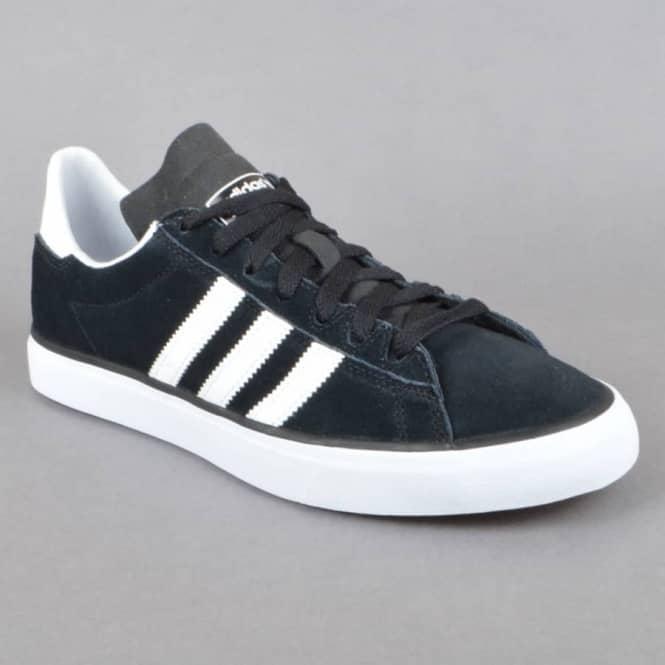 Campus Vulc II Skate Shoes - Core Black/FTW White/Gum 3