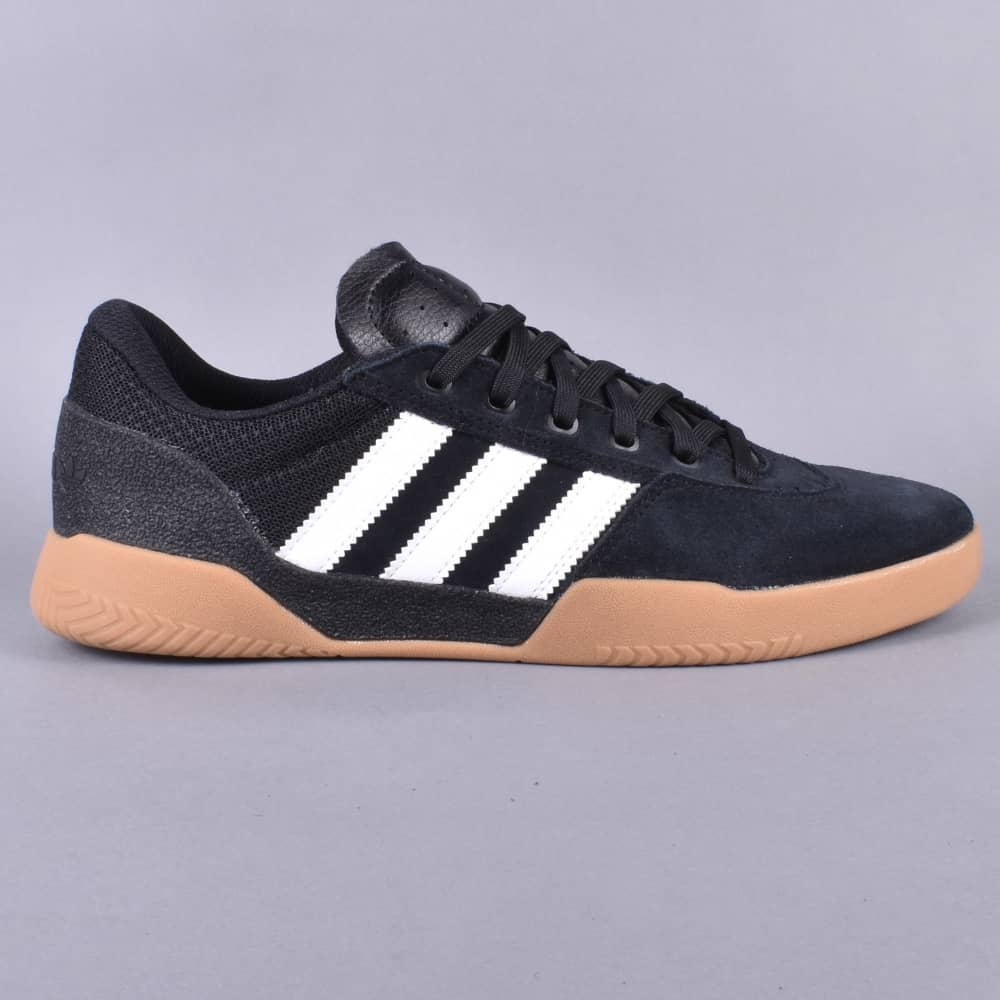 City Cup Skate Shoes CBLACKFTWWHTGUM4