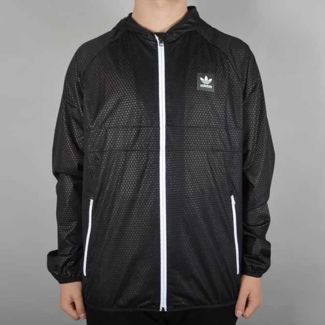 Adidas Skateboarding Climastorm Windbreaker Jacket - Black