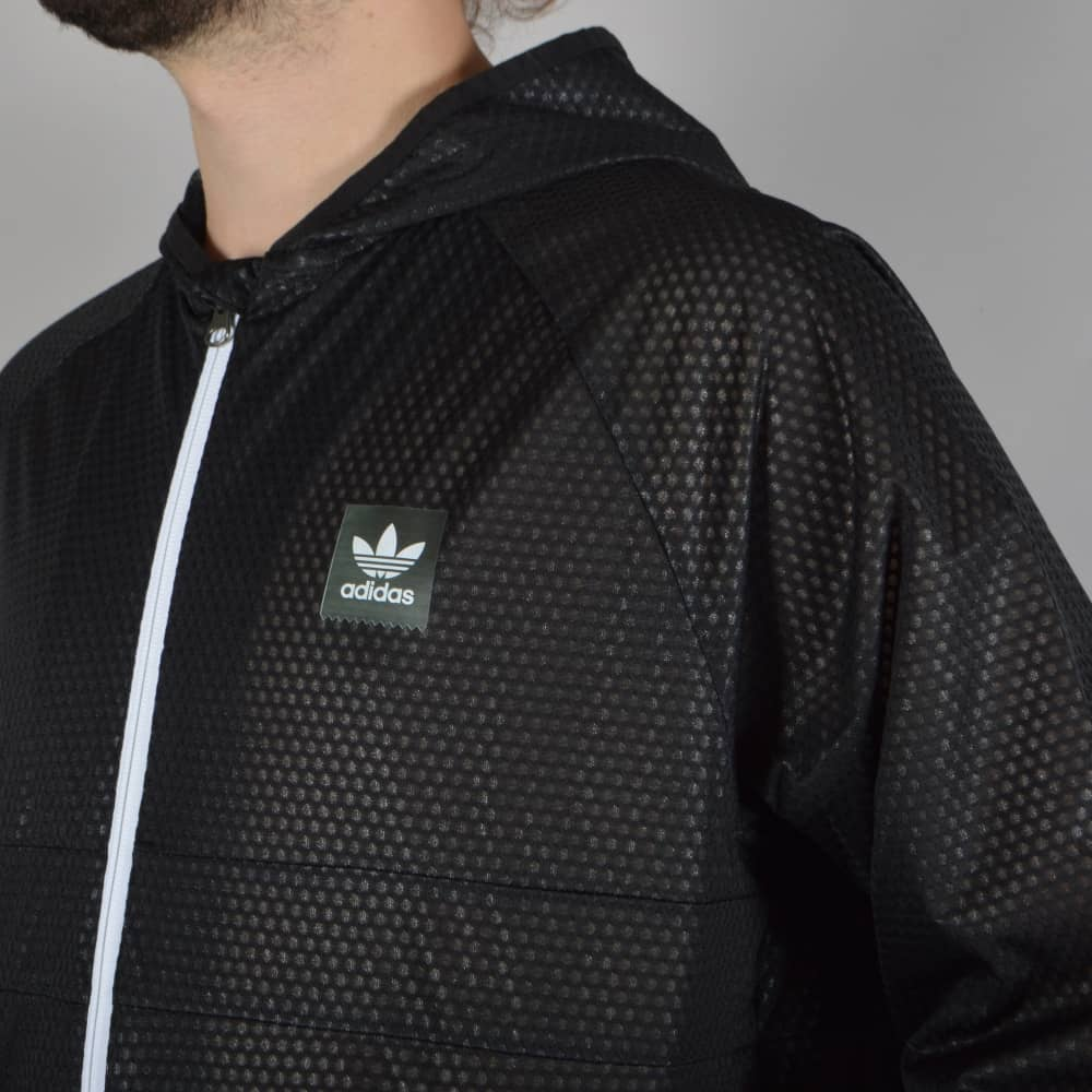 Adidas Skateboarding Climastorm Windbreaker Jacket Black