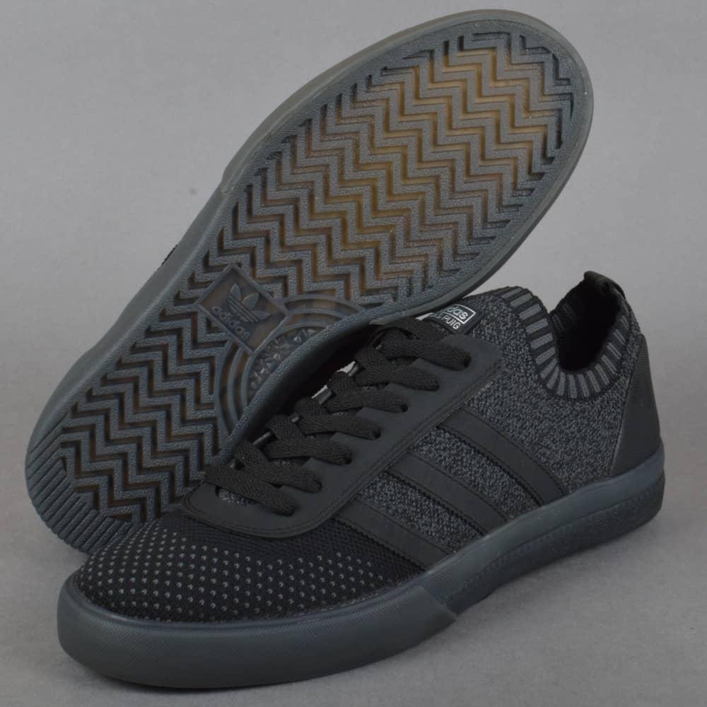 the best attitude 59c0b ae9d3 Lucas Premiere PK Skate Shoes - Core Black Dark Grey Heather Solid Grey ...