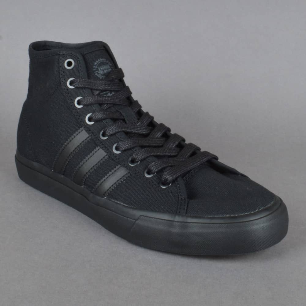 0336f7d8447 Adidas Skateboarding Matchcourt High RX Skate Shoes - Core Black ...