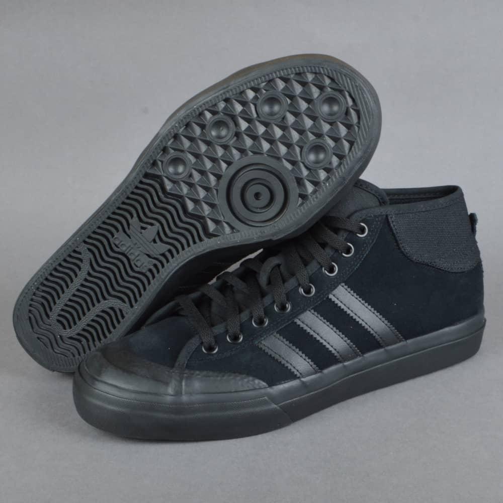 c5ef8500da Adidas Skateboarding Matchcourt Mid ADV Skate Shoes - CBLACK CBLACK ...