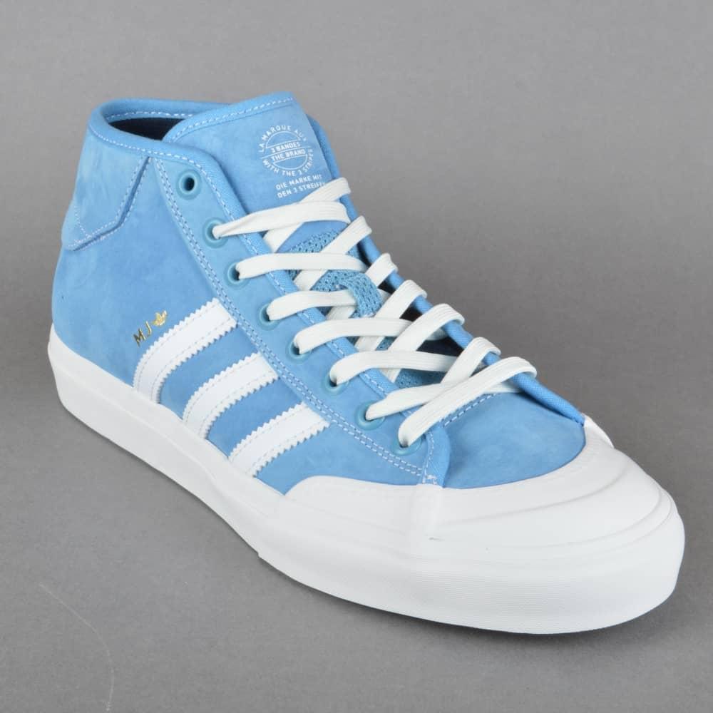 huge selection of 95acb 9fd4b Matchcourt Mid Skate Shoes - LTBLUE NEOWHI GOLDMT ...