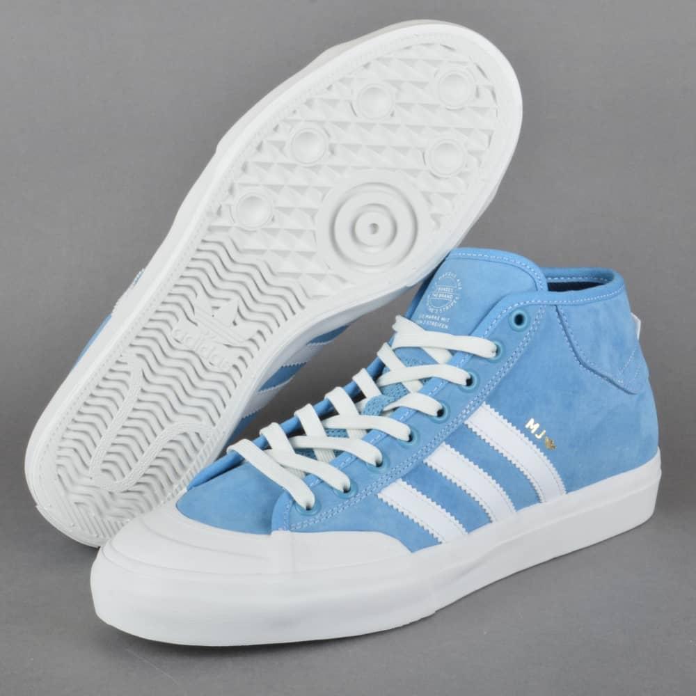 new styles 0ba16 37990 Matchcourt Mid Skate Shoes - LTBLUE NEOWHI GOLDMT