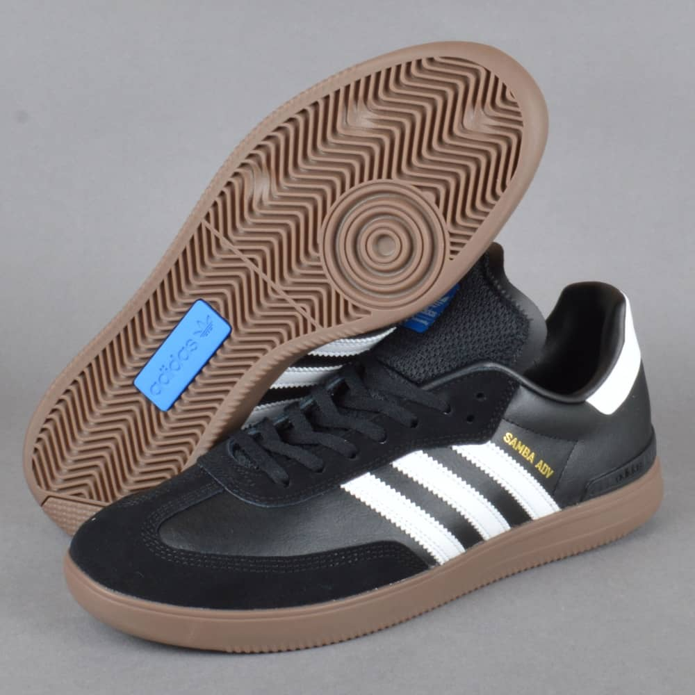 Samba ADV Skate Shoes Core BlackFootwear WhiteGum 5