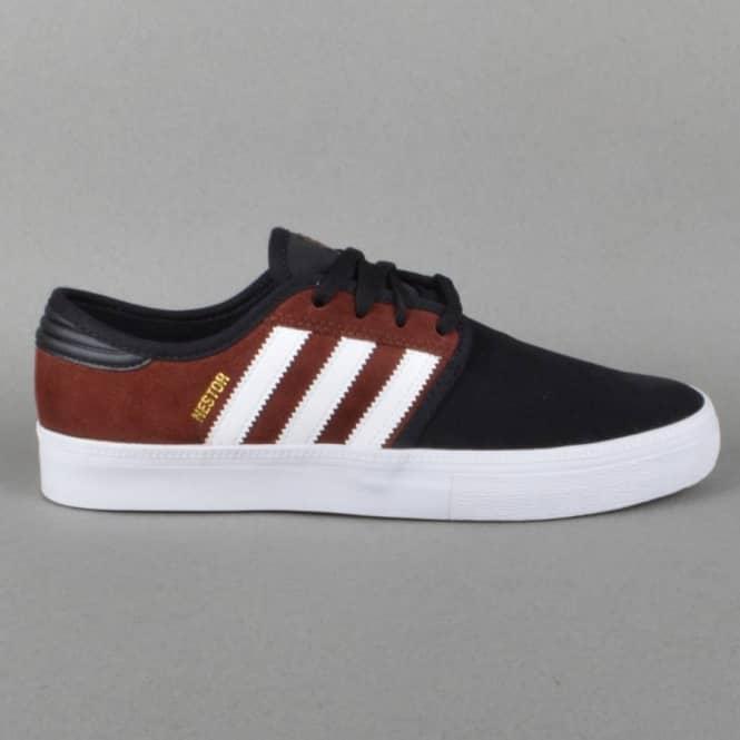 best loved c78a1 2c92c Seeley ADV Skate Shoes - Dark Rust FTW White Black