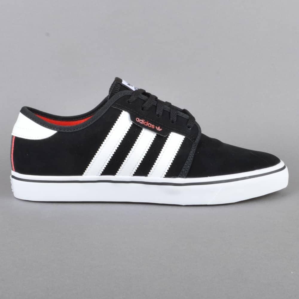 new product 26811 425b3 Seeley Skate Shoes - CBlack FTWWht Scarlet