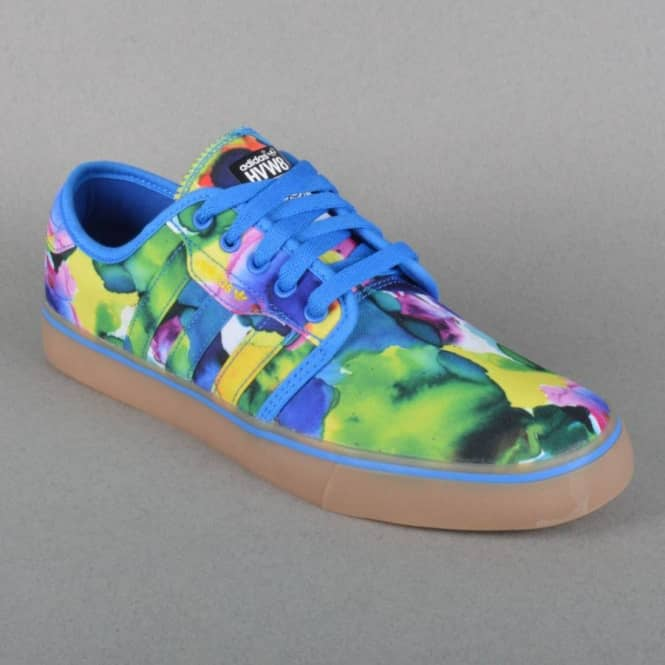 Seeley Skate Shoes HVW8 BluebirdYellowCore Black