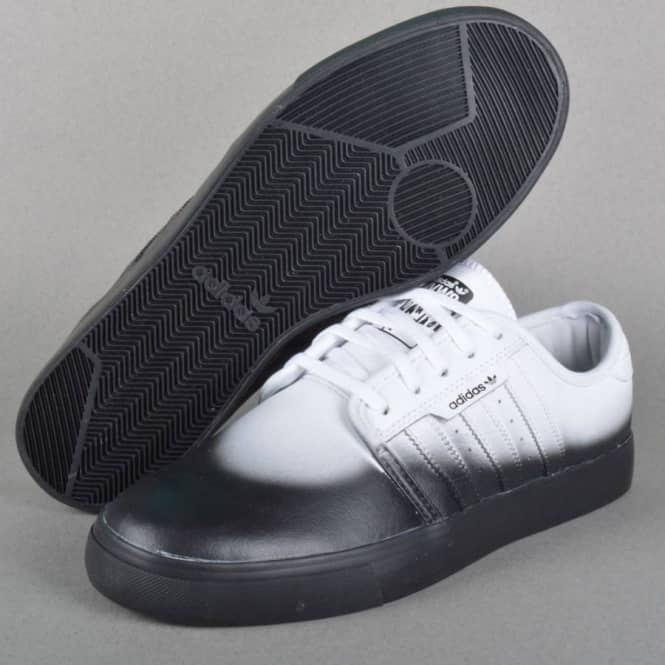 adidas skateboard seeley pattinare le scarpe hvw8 ftwr bianco / ftwr bianco