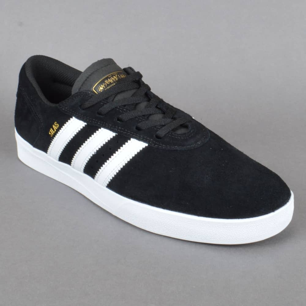 d779ed822e Silas Vulc ADV Skate Shoes - Core Black Footwear White Footwear White