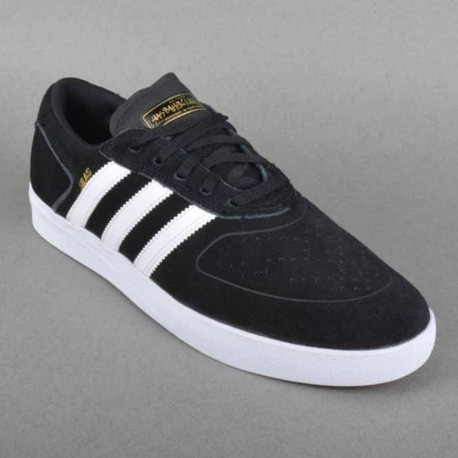 Adidas Skateboarding Silas Vulc Skate Shoes - Core Black/White/Powder Red