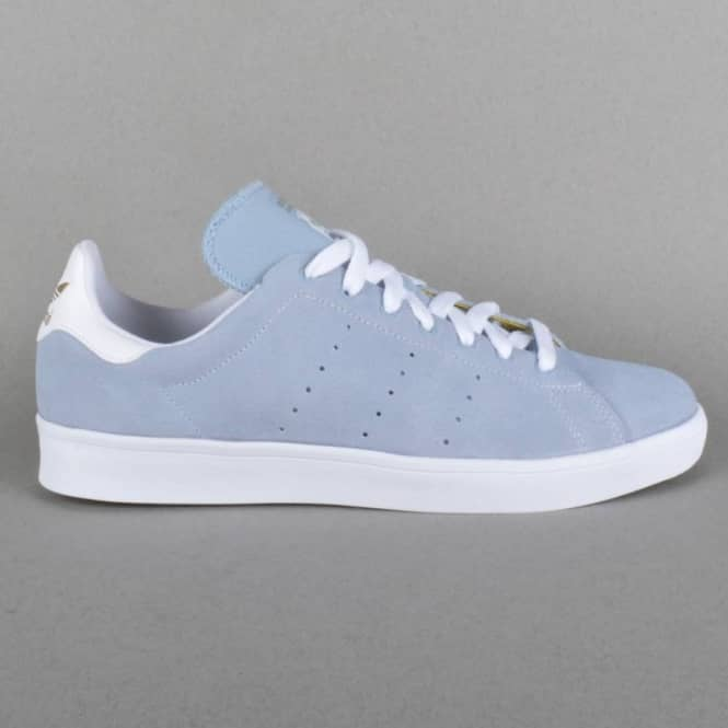 Stan Smith Vulc Skate Shoes - Dust Blue/Ftwr White/Ftwr White