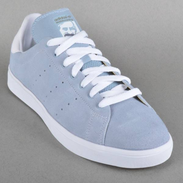 new style 402ab 3f7af Adidas Skateboarding Stan Smith Vulc Dust Blue aoriginal.co.uk