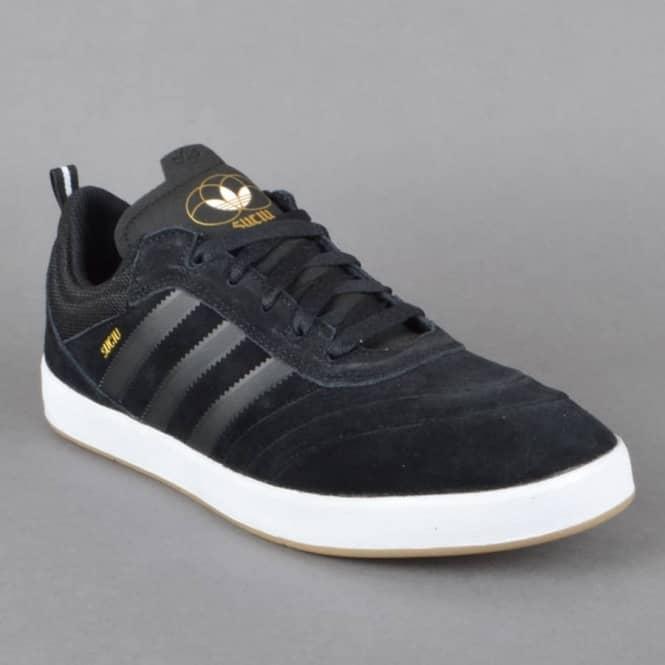 Adidas Skateboarding Suciu ADV Skate Shoes - CBLACK FTWWHT GOLDMT ... d16012c2c