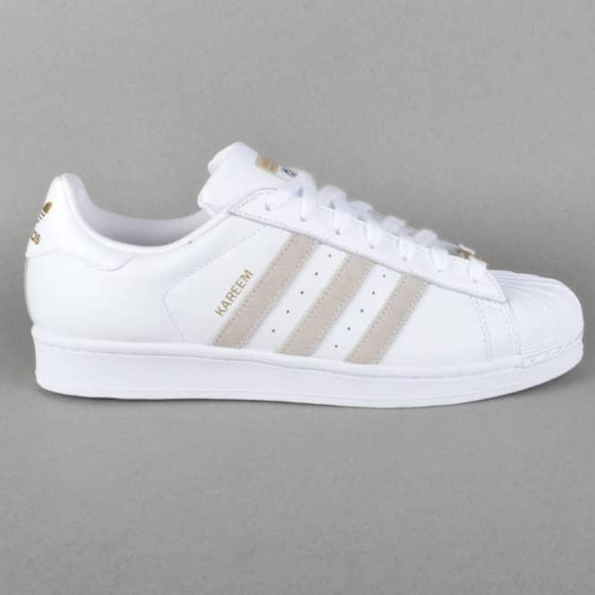 Superstar RT Kareem Campbell Skate Shoes - FTW White/FTW White/FTW White