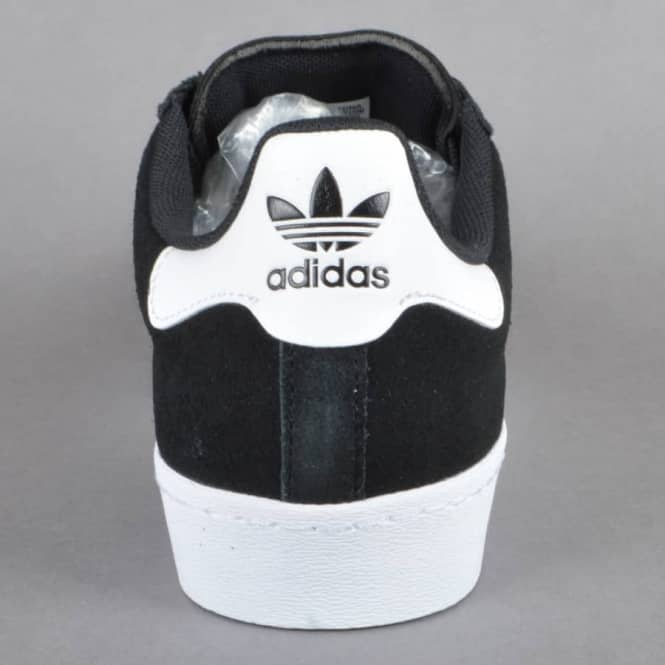 449ace2021e Adidas Skateboarding Superstar Vulc ADV Skate Shoes - CBLACK FTWWHT ...