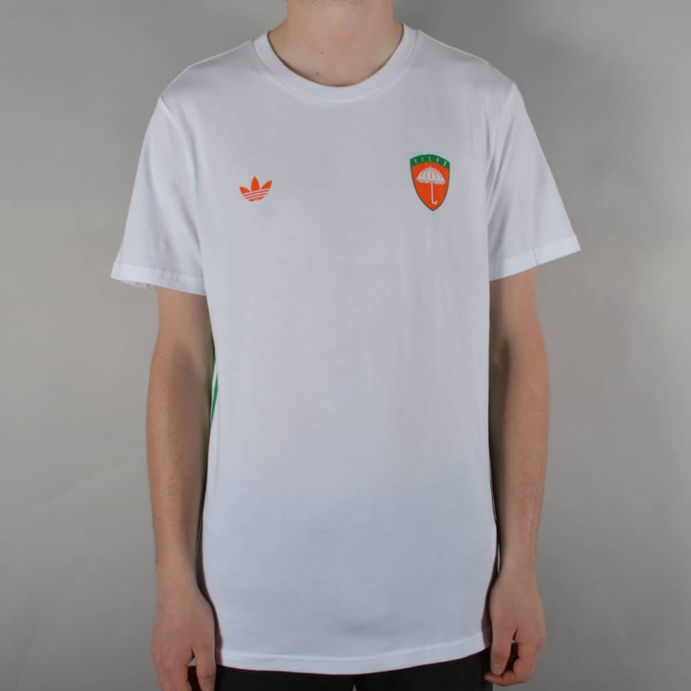 X Helas Skate T-Shirt - White