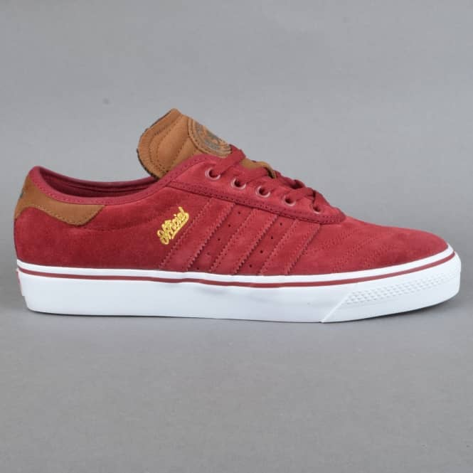 Adidas Skateboarding X Official Adi-Ease Premiere ADV Skate Shoes - Collegiate Burgundy/St Bark/White