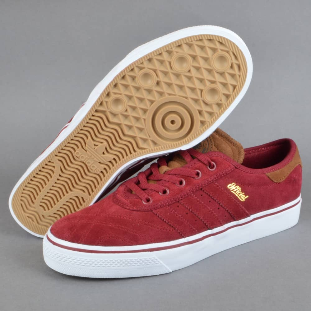 brand new ef096 545b9 X Official Adi-Ease Premiere ADV Skate Shoes - Collegiate BurgundySt Bark