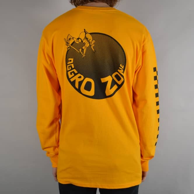 Transworld Aggro Zone Longsleeve T-Shirt - Orange