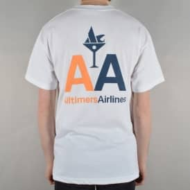 Airline Skate T-Shirt - White