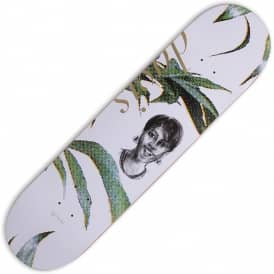 Al Davis Mother (White) Skateboard Deck 8.0