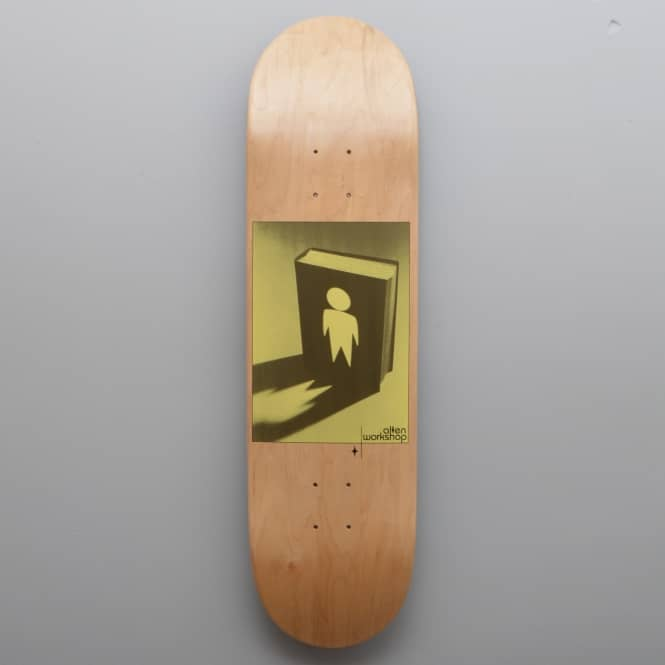 Alien Workshop Good Book Natural Skateboard Deck 8.375
