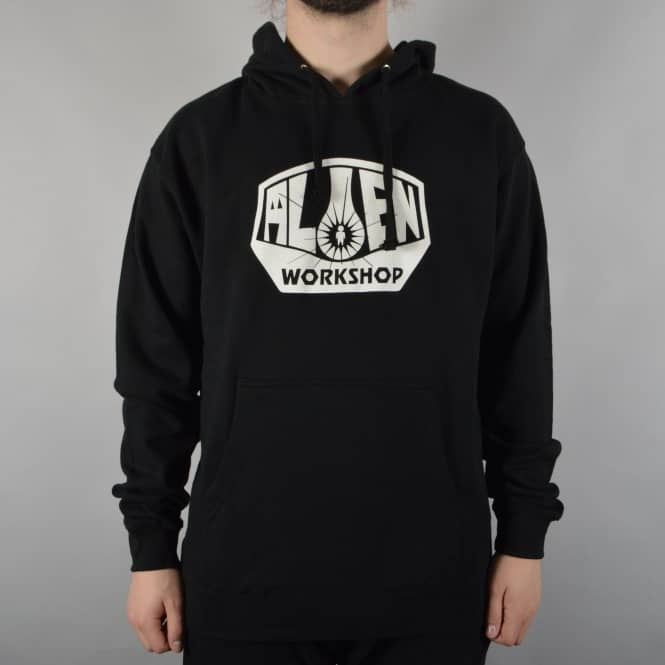 Alien Workshop OG Logo Pullover Hoodie - Black