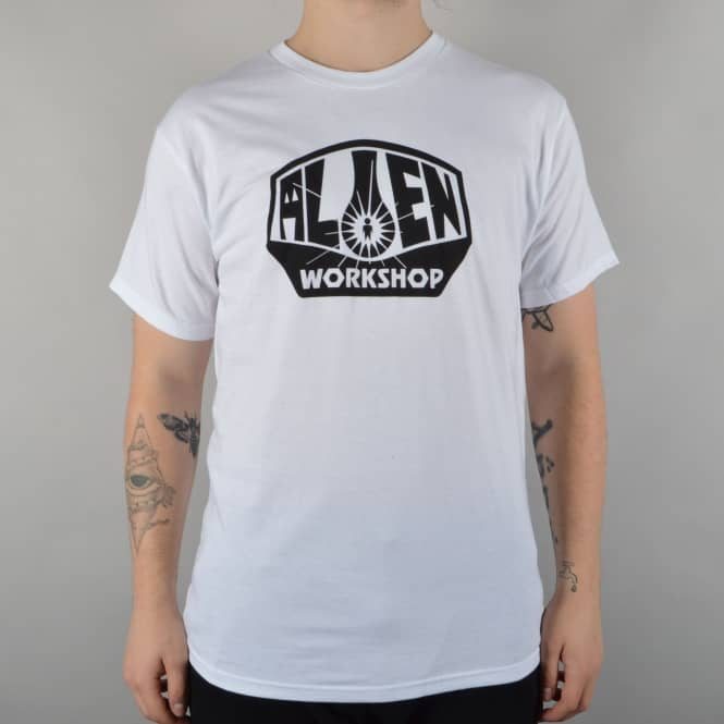 Alien Workshop OG Logo Skate T-Shirt - White