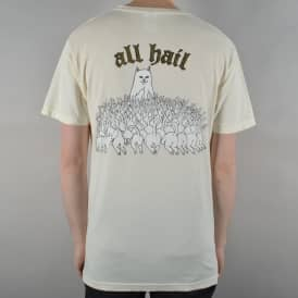 Rip N Dip All Hail Skate T-Shirt - Natural