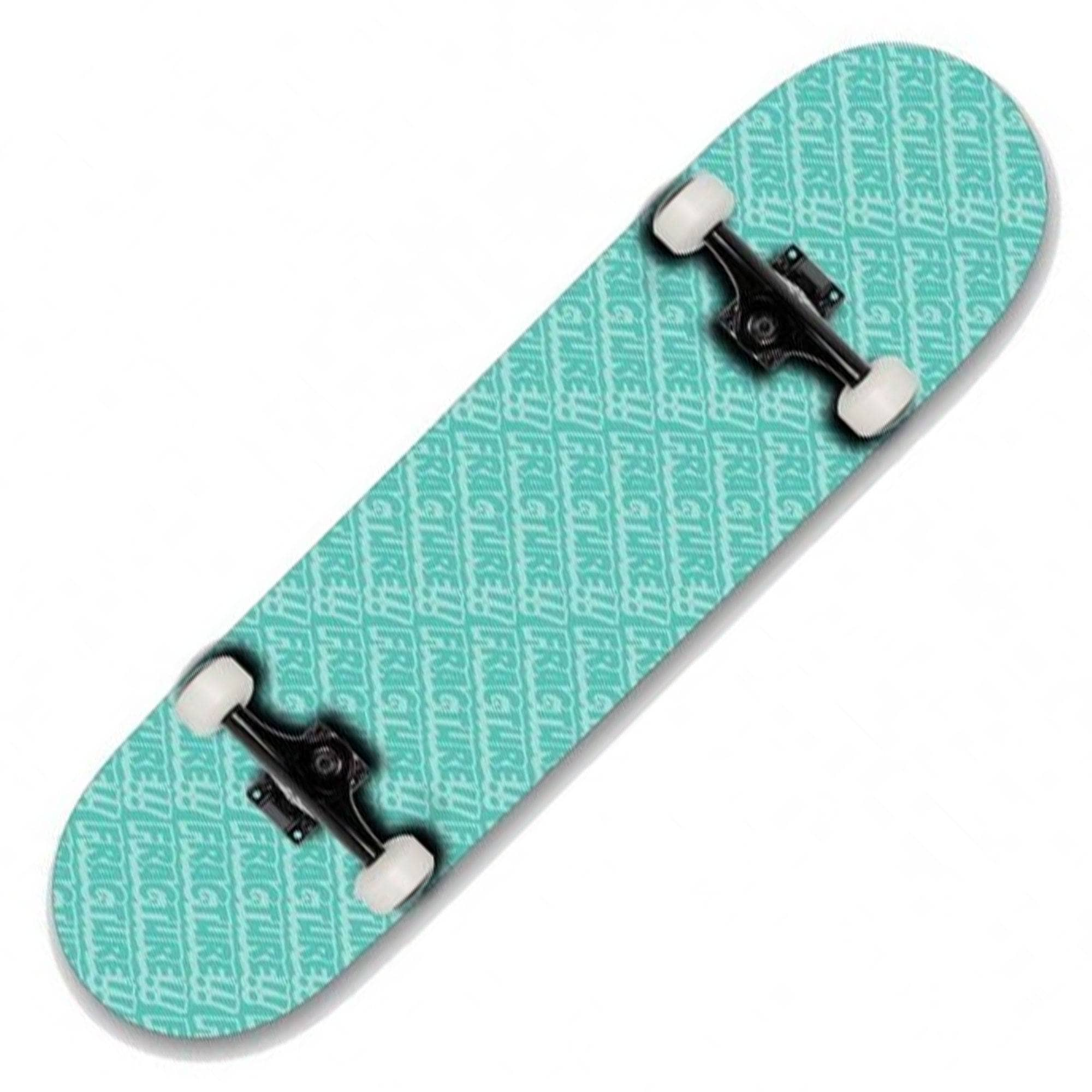 """Fracture Skateboards All Over Comic Factory Complete Skateboard Green 8.25/"""""""