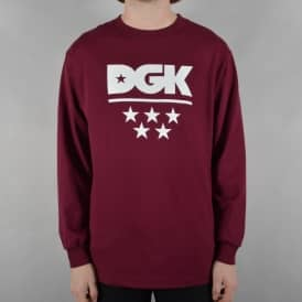 All Star Longsleeve T-Shirt - Burgundy