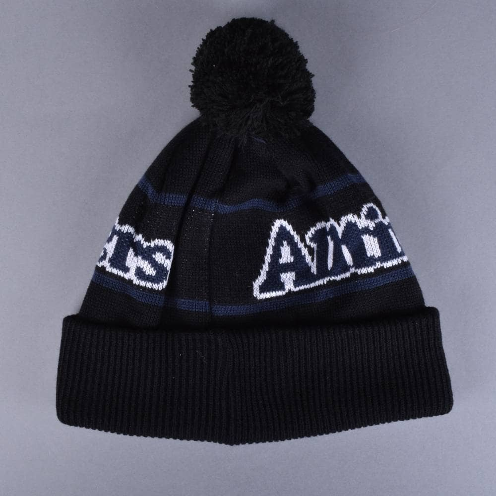 Alltimers Broadway Bobble Beanie - Black - SKATE CLOTHING from ... eac50ab0011
