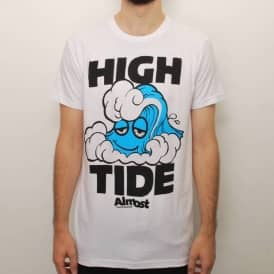 Almost High Tide 2.0 Slim Fit T-Shirt - White