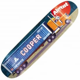 Almost Skateboards Almost Cooper Wilt Lotti Trucks Skateboard Deck 8.375''