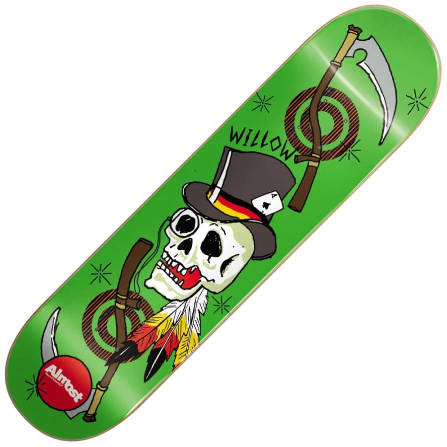 Almost Skateboards Almost Willow Dirty Skulls Double ...