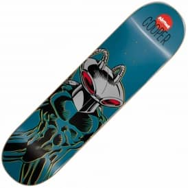 Almost X DC Comics Cooper Wilt Black Manta Skateboard Deck 8.0''