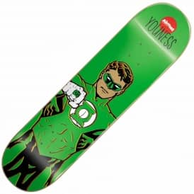 Almost Skateboards Almost x DC Comics Youness Amrani Green Lantern Skateboard Deck 8.0''
