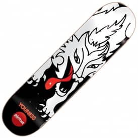 Almost Skateboards Amrani Wolf Bait Skateboard Deck 8.125""