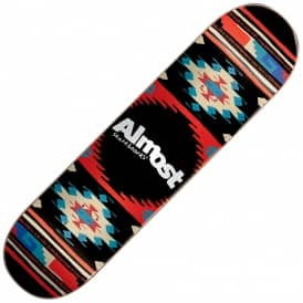 Almost Skateboards Aztec Night Skateboard Deck 8.0""