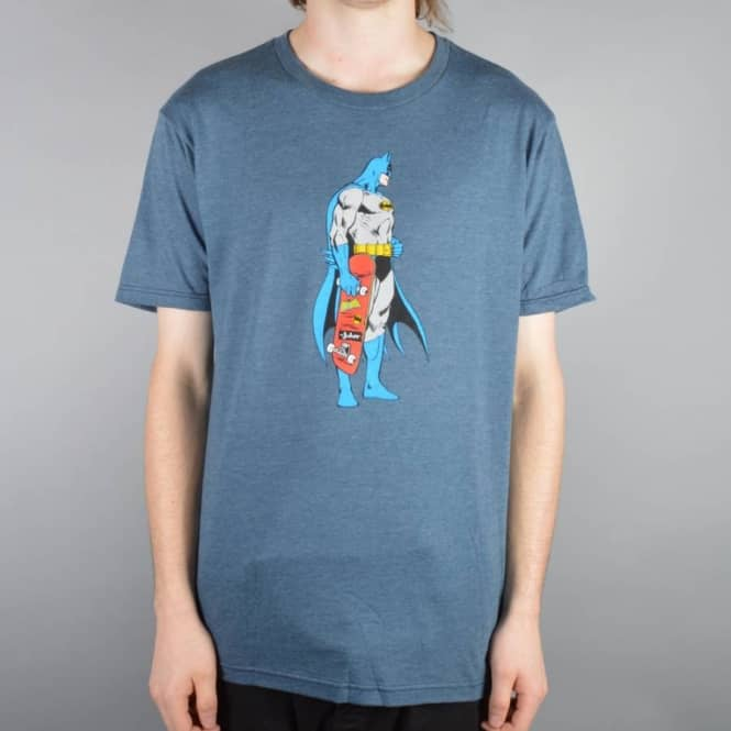 Almost Skateboards Batman Mall Grab Skate T-Shirt - Navy Heather