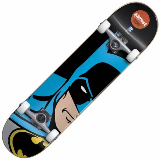 Almost Skateboards Cooper Wilt Batman Splitface Complete Skateboard 7.75
