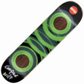 Almost Skateboards Cooper Wilt Glow In The Dark Impact Support Skateboard Deck 8.25''