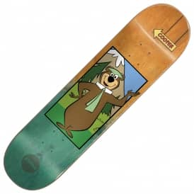 Almost Skateboards Cooper Yogi Bear Fade Skateboard Deck 8.375''